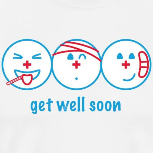 Get Well Soon - Männer Premium T-Shirt