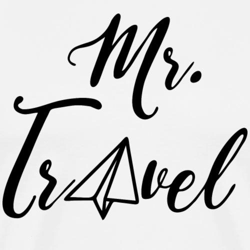 Mr. Travel - by Life to go - Männer Premium T-Shirt