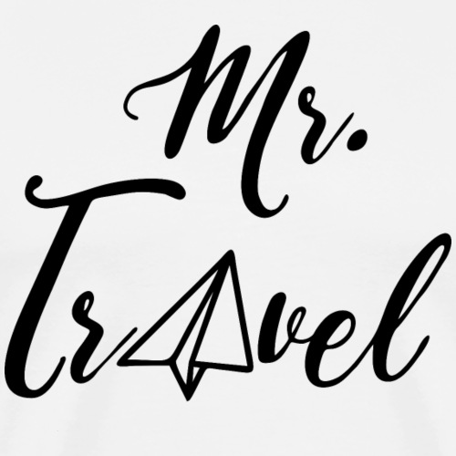 Mr. Travel - by Life to go - Männer Premium T-Shirt