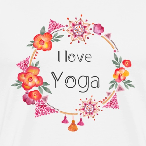 i-love-yoga - Men's Premium T-Shirt