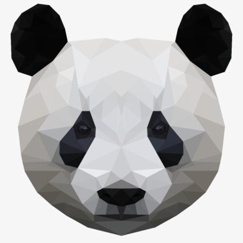 Polygon Panda - Koszulka męska Premium