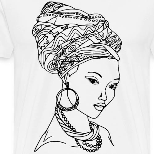 BLACK WOMEN - Männer Premium T-Shirt