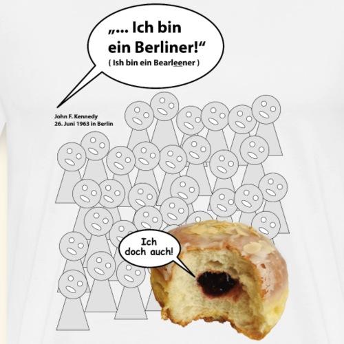 1070 - Berliner - Männer Premium T-Shirt