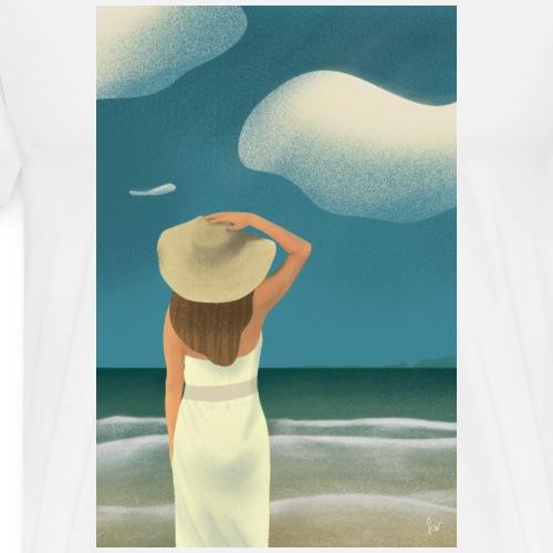 Sommerstrand - Männer Premium T-Shirt