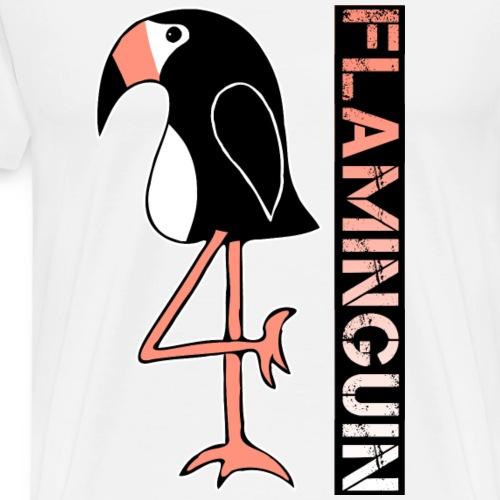Pinguin Flamingo Flaminguin - Männer Premium T-Shirt