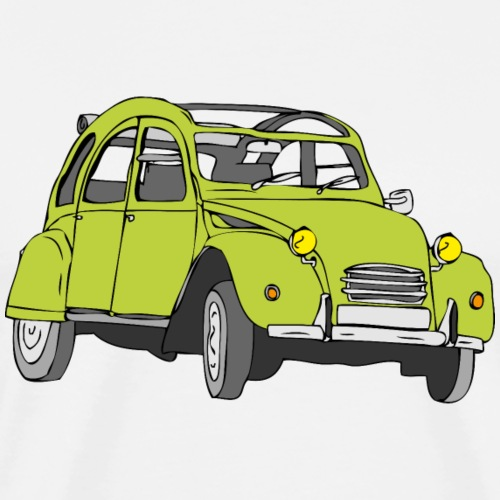 Auto grün - Männer Premium T-Shirt