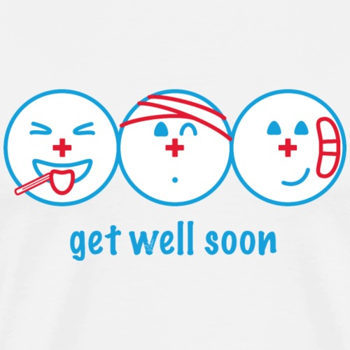 Get Well Soon - Männer Premium T-Shirt