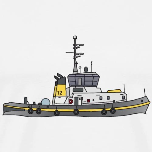 Schlepper Schleppschiff c - Männer Premium T-Shirt