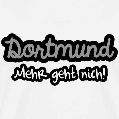 Dortmund mehr geht nich - Männer Premium T-Shirt