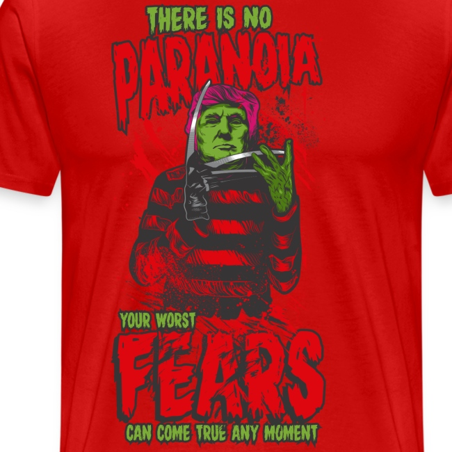 There is no paranoia