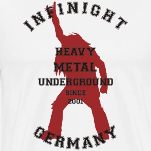 Infinight College headbanger hell red - Männer Premium T-Shirt