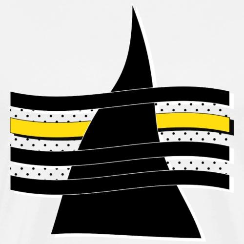 Drapeau du rêveur Noir - T-shirt Premium Homme