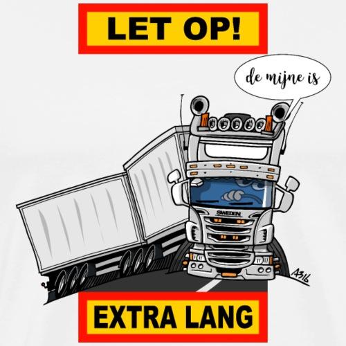 0323 extra lang - Mannen Premium T-shirt