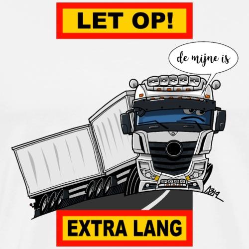 0850 extra lang - Mannen Premium T-shirt