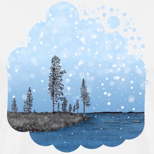 Première neige - T-shirt Premium Homme