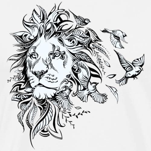 Lion - Mannen Premium T-shirt