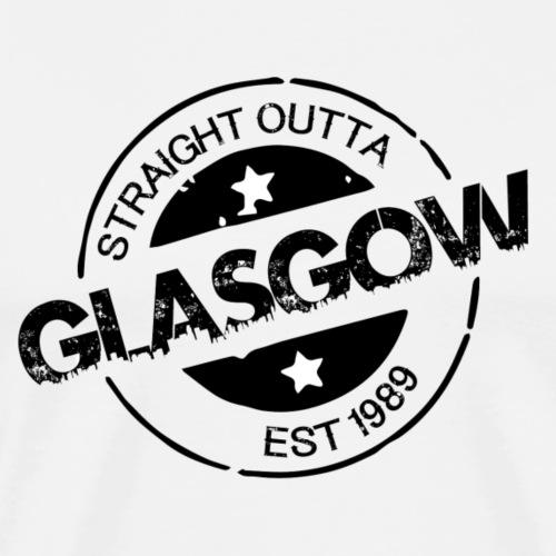OUTTA-GLASGOW-BLACK - Men's Premium T-Shirt