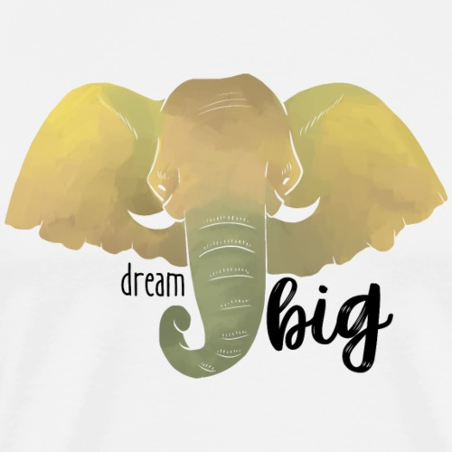 Elefant Dream Big - Männer Premium T-Shirt