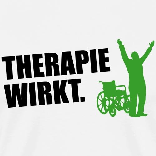 Therapie wirkt - Männer Premium T-Shirt