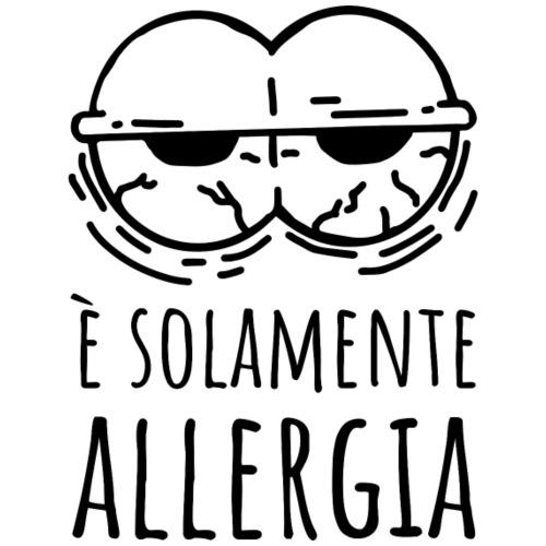 Solamente allergia - Maglietta Premium da uomo
