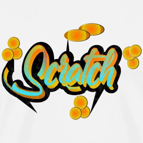 scratch - Männer Premium T-Shirt