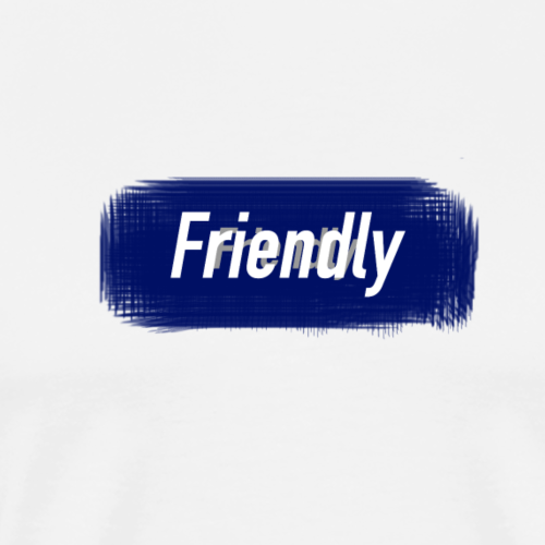 FRIENDLY 2018 BOX LOGO - Men's Premium T-Shirt