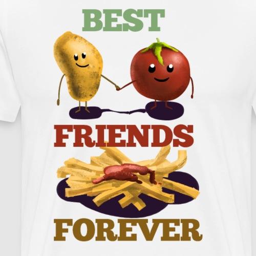Potato&Tomato - Männer Premium T-Shirt