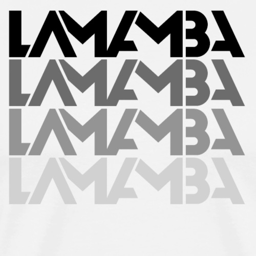 Lamamba (Fade) - Männer Premium T-Shirt