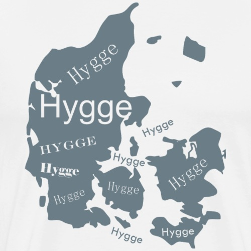 Mapa de Dinamarca Hygge