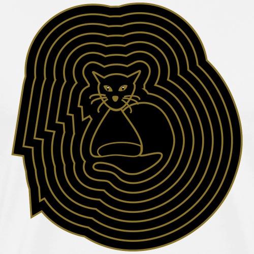 katzen spirale 6 - Männer Premium T-Shirt