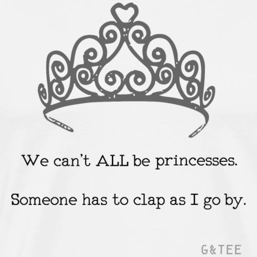 princesses b&w - Men's Premium T-Shirt