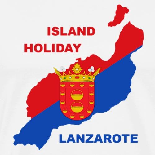 Lanzarote Holiday Insel Urlaub - Männer Premium T-Shirt