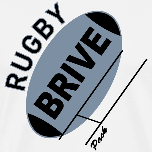 Rugby Brive - T-shirt Premium Homme