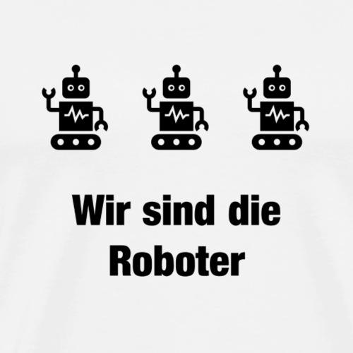 Generation Roboter - Männer Premium T-Shirt