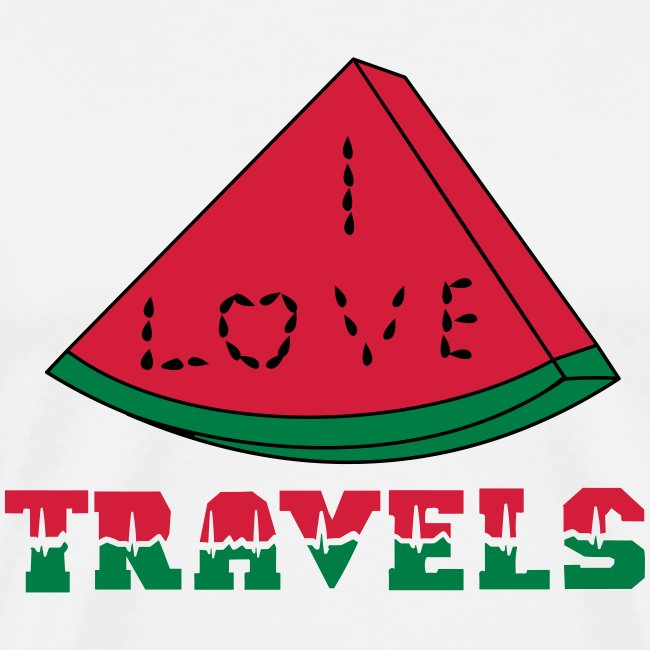 I LOVE TRAVELS FRUITS for life