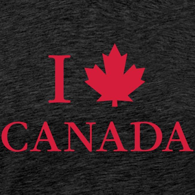 I love Canada Ahornblatt Kanada Vancouver Ottawa