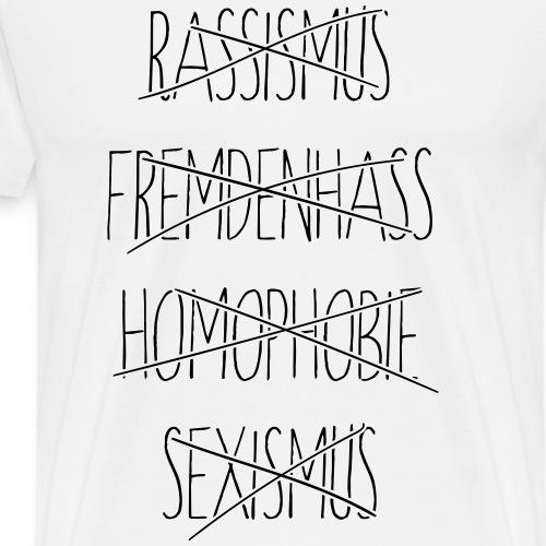 stroked2 - Männer Premium T-Shirt