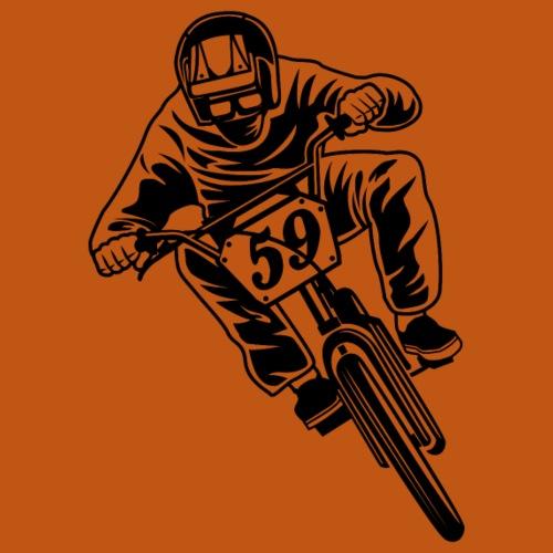 BMX Fahrrad / Bike 02_schwarz - Männer Premium T-Shirt