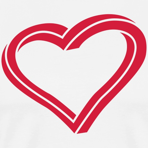 Twisted Heart - Men's Premium T-Shirt