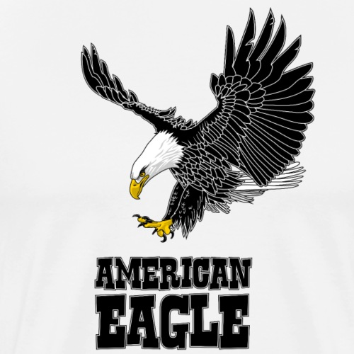 American eagle - Mannen Premium T-shirt