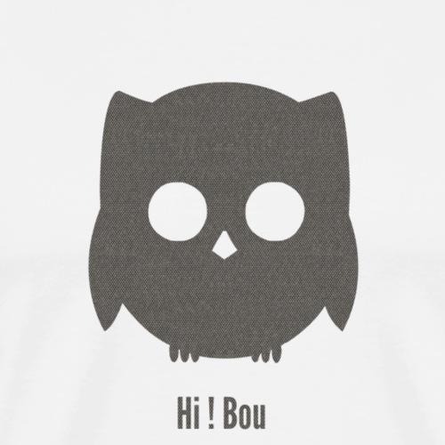 HI ! Bou - Gray Collection - T-shirt Premium Homme