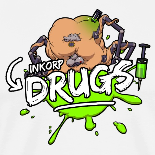 INKORP© Drugs - Men's Premium T-Shirt
