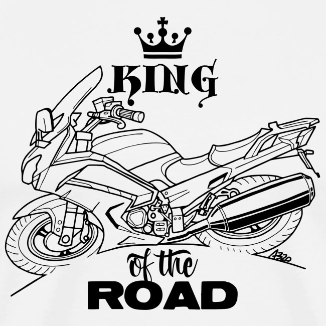 0882 FJR KING of the ROAD