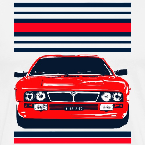 rally car - Men's Premium T-Shirt
