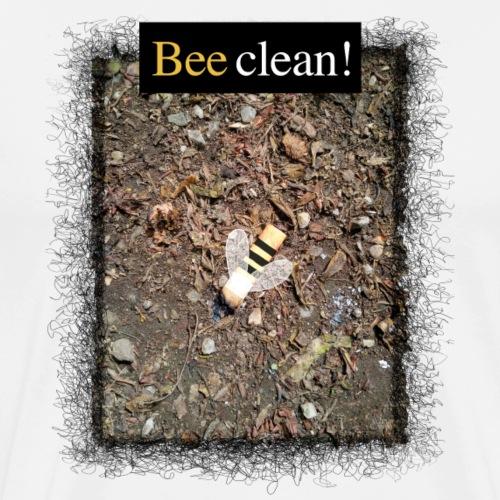 Bee clean - Männer Premium T-Shirt