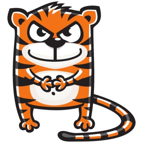 Tiger fies - Männer Premium T-Shirt