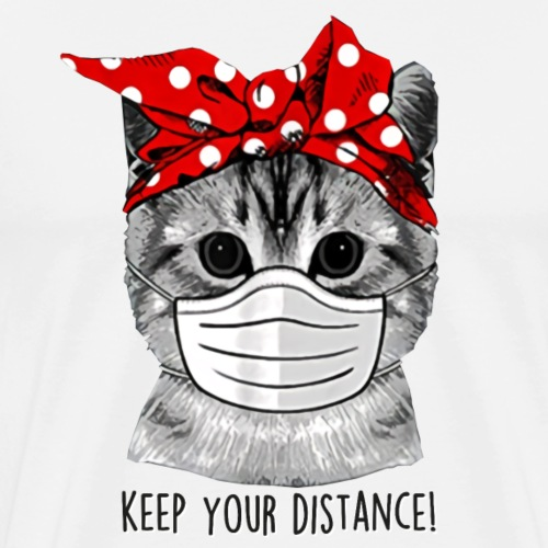 keep distance - Men's Premium T-Shirt