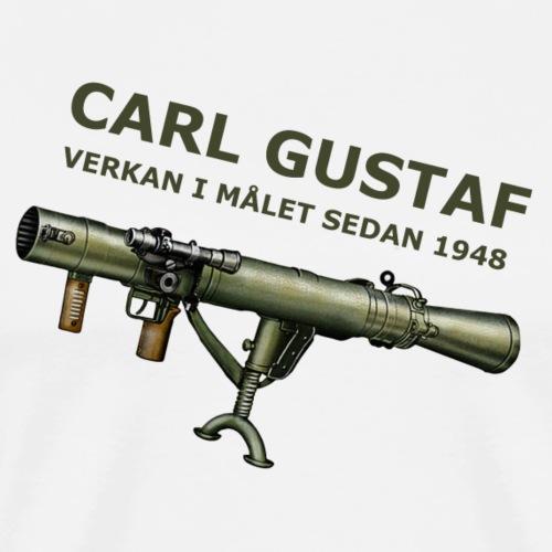 Carl Gustaf - Premium-T-shirt herr