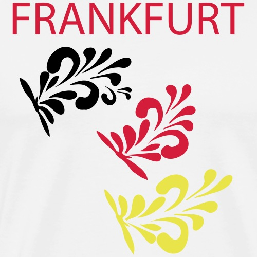 Bembelschwung Meister FFM - Männer Premium T-Shirt