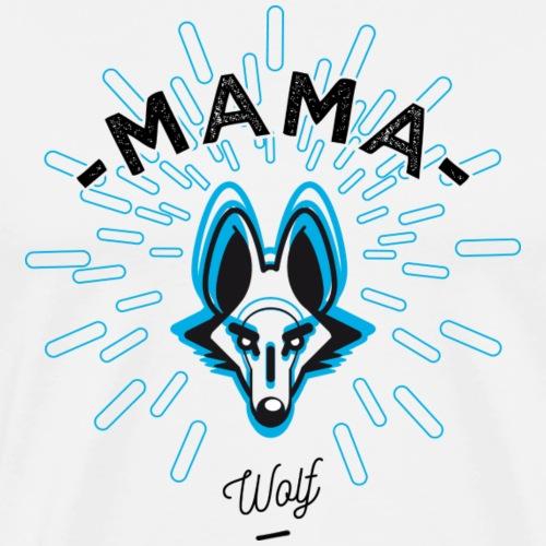 MAMA WOLF - T-shirt Premium Homme